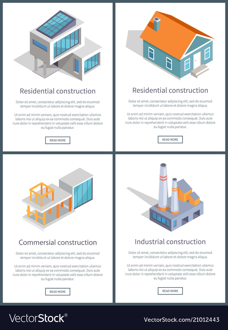 Residential and industrial page