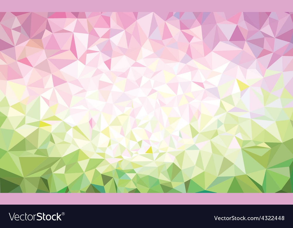 Background Pink Green Royalty Free Vector Image
