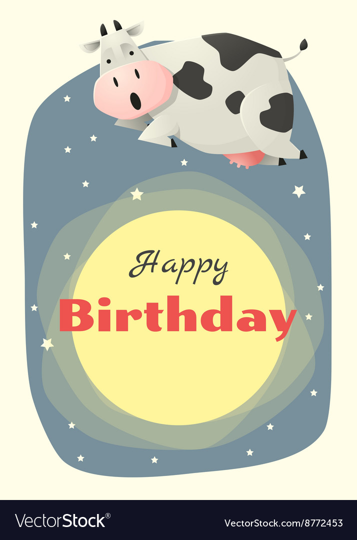 Birthday and invitation card animal background