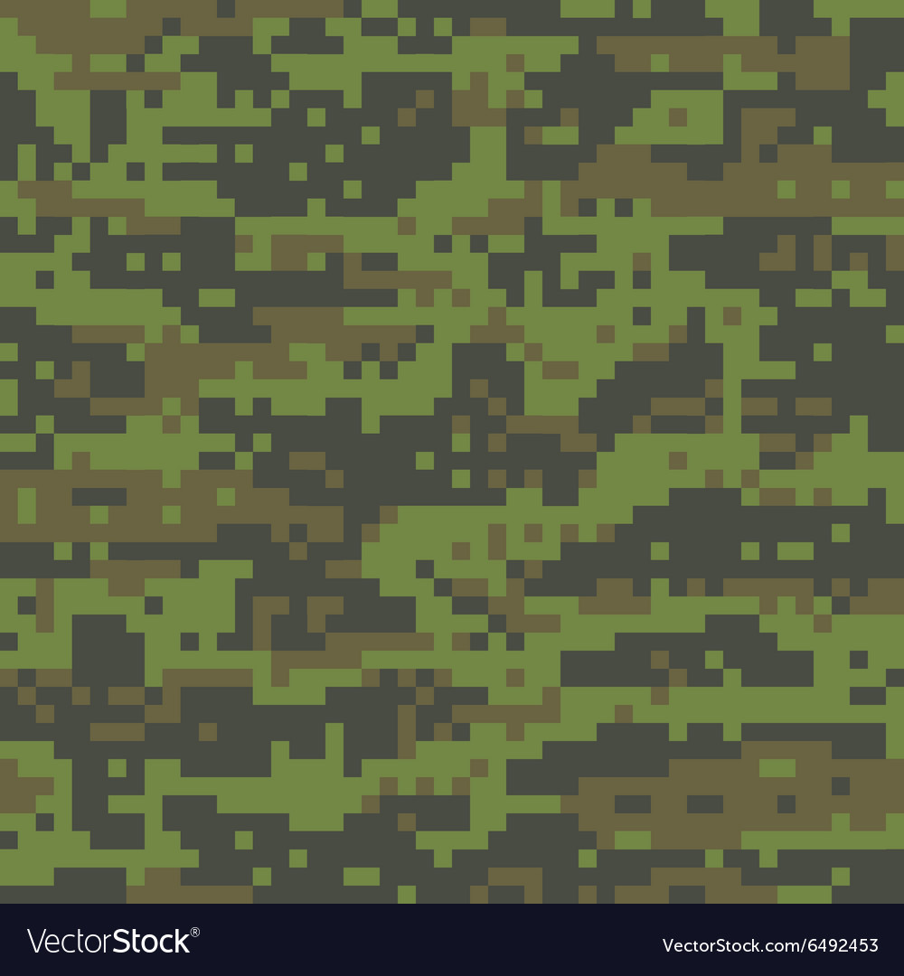 woodland digital camo pattern royalty free vector image rh vectorstock com green digital camo vector digital camo vector file