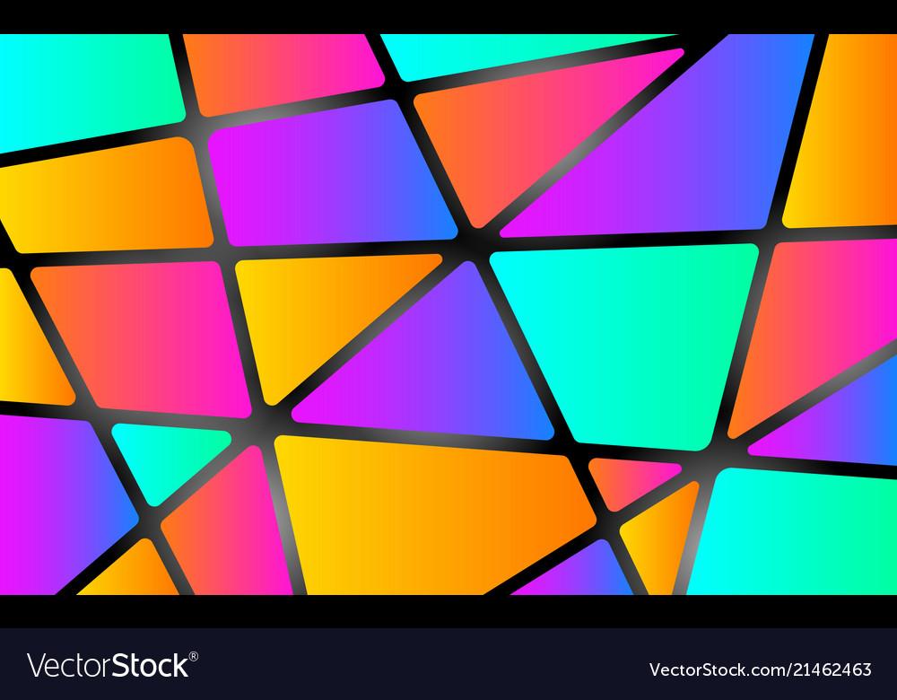 Colorful mosaic background color shapes concept