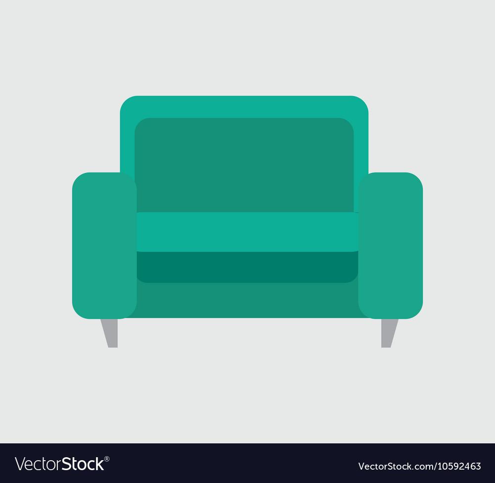 Icon sofa green design