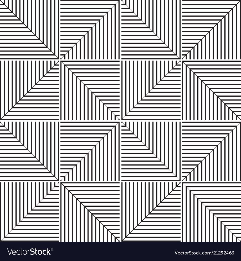 Stylish black and white geometric graphic pattern