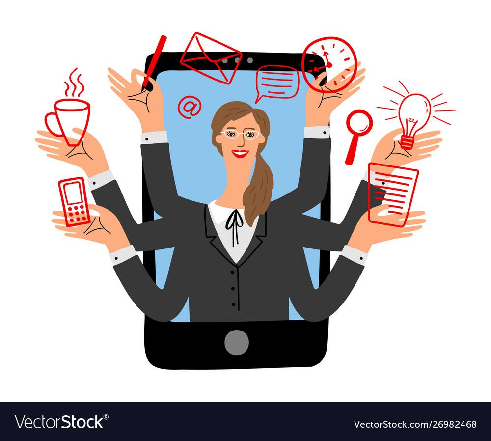 Online assistant concept