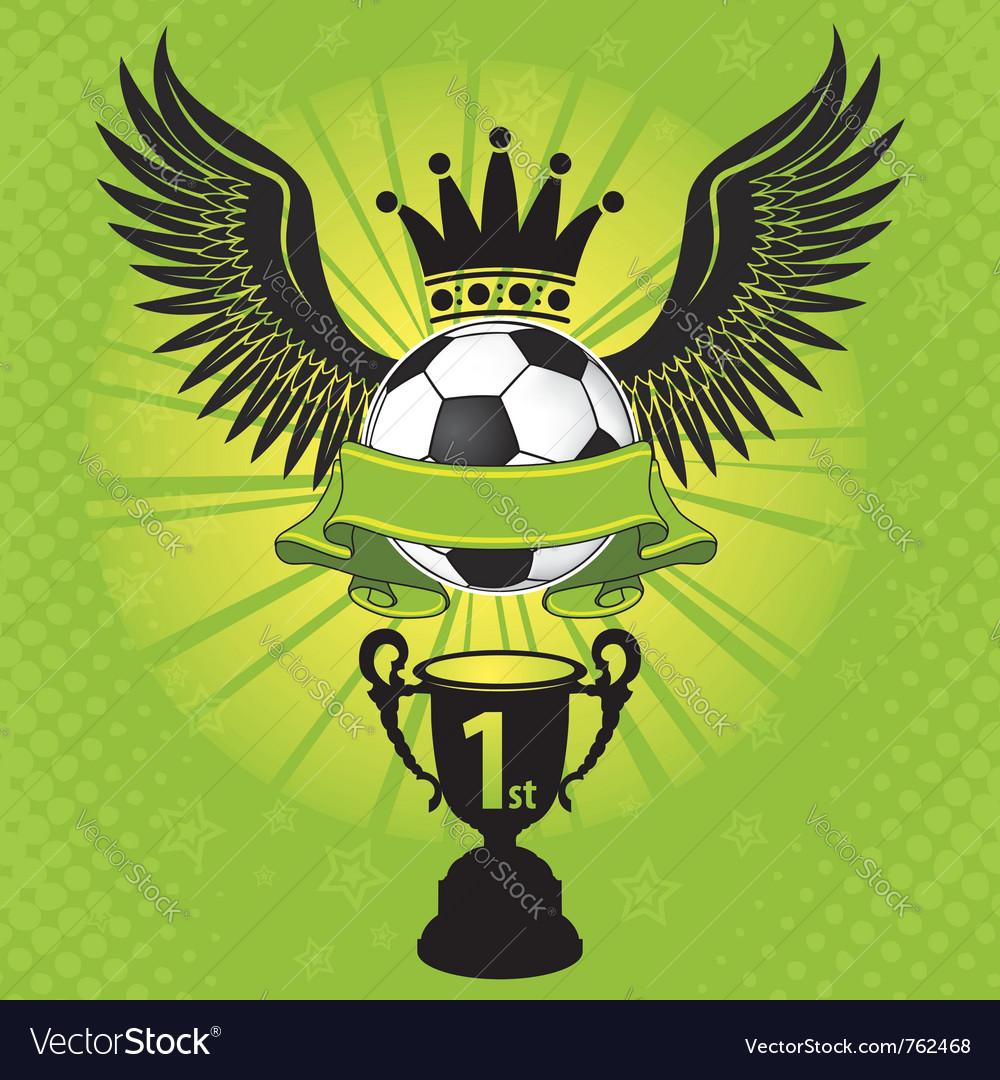 Soccer balls crown