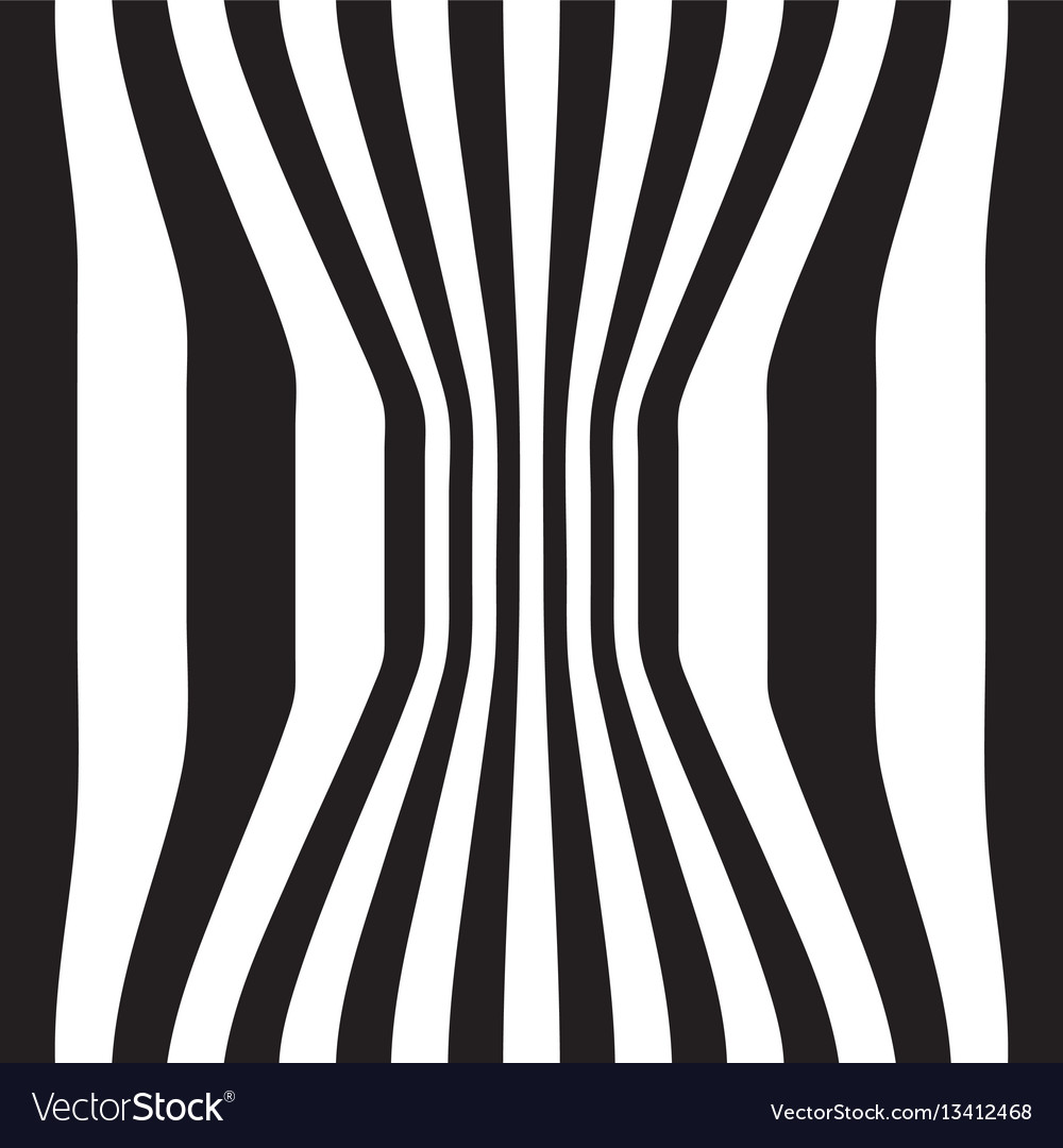 Striped abstract background black and white zebra