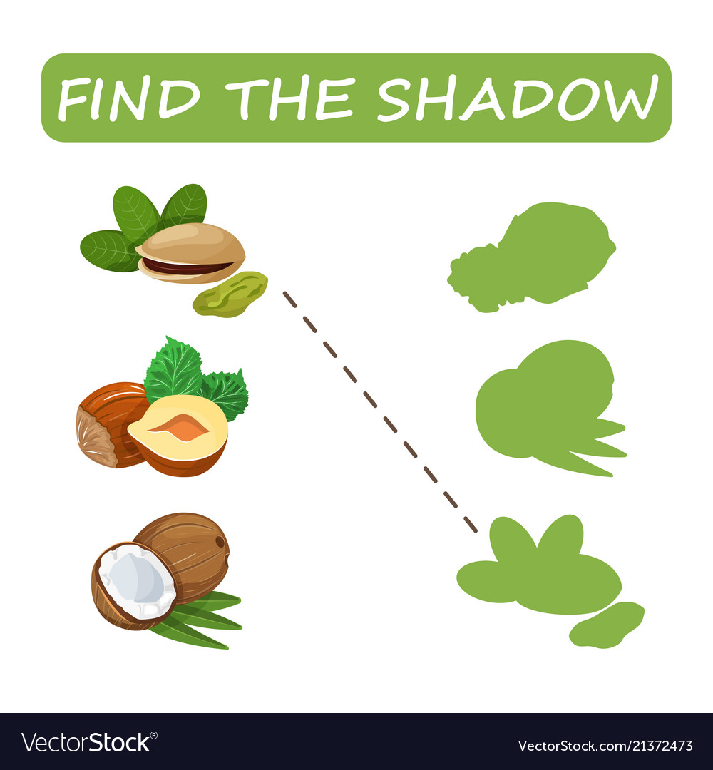 Find the correct shadow nuts