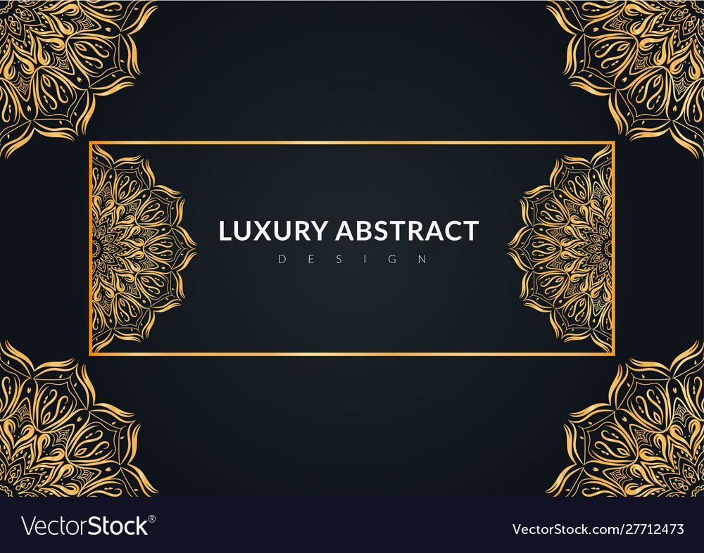 Luxury abstract background design