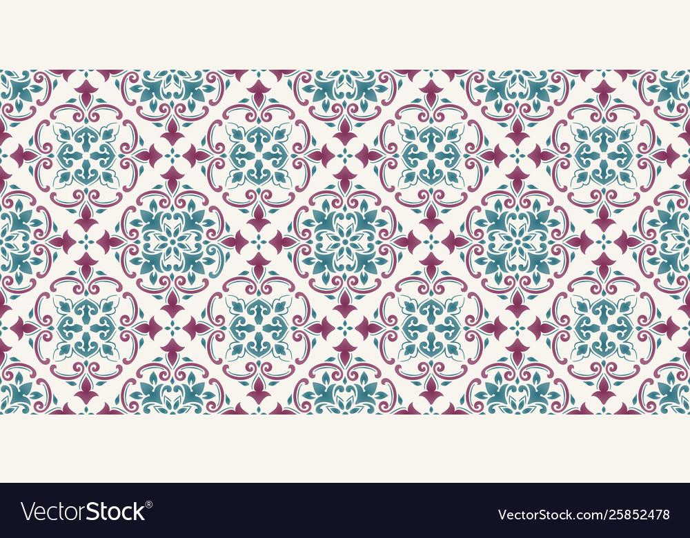 Damask seamless pattern background elegant