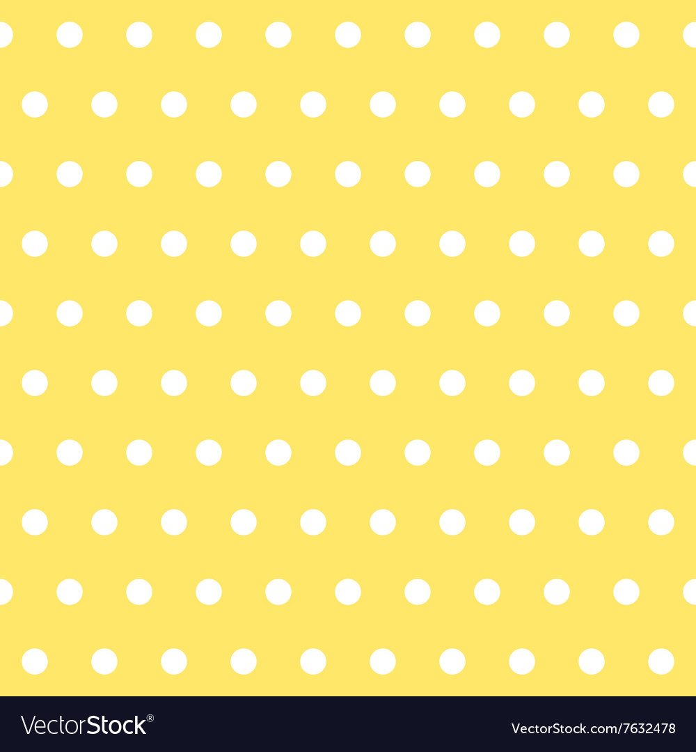 Popular yellow vintage dots abstract pastel