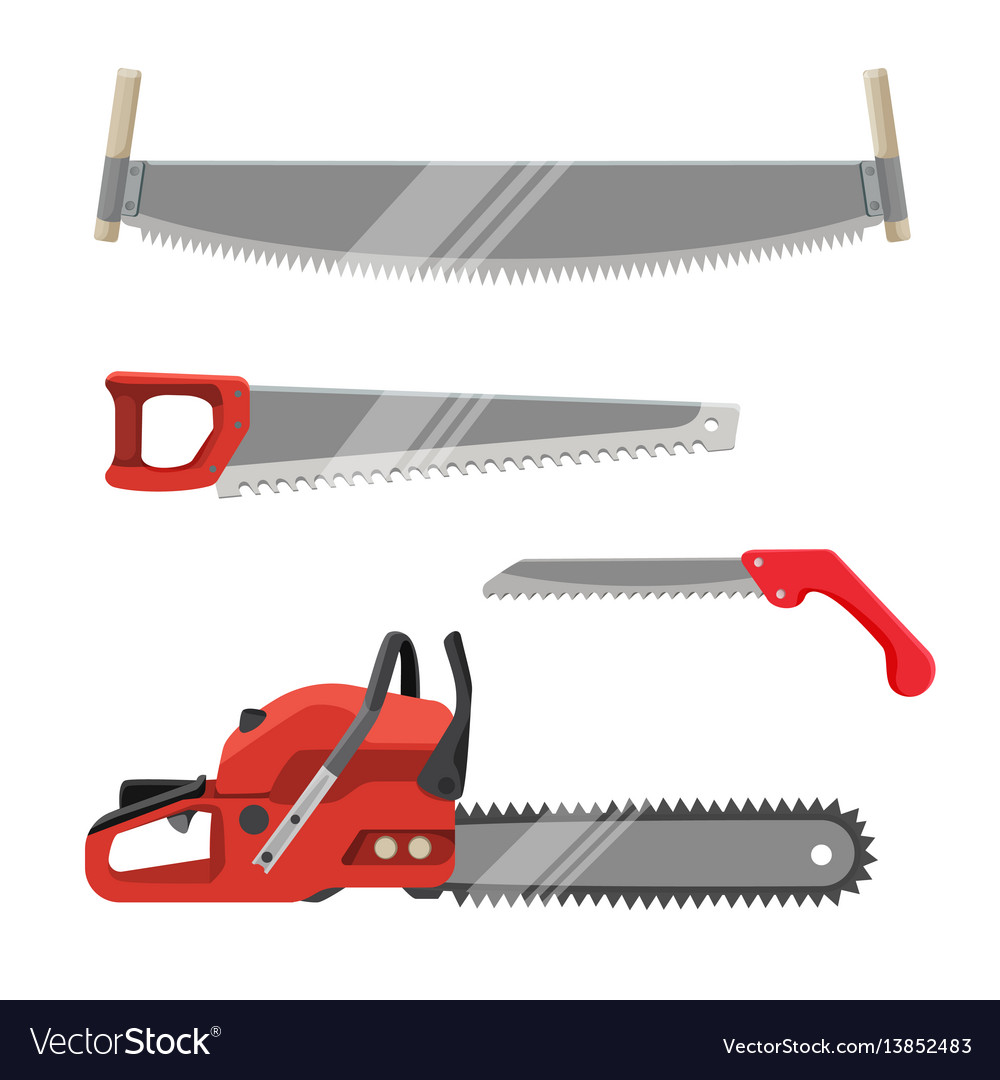 Axeman instruments set hand saws carpentry tools