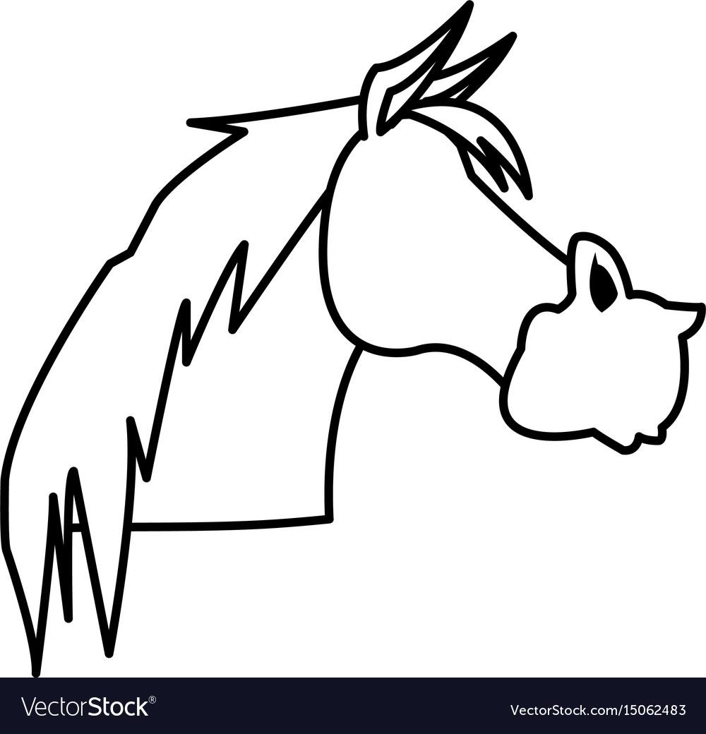 Horse animal farm domestic strong image