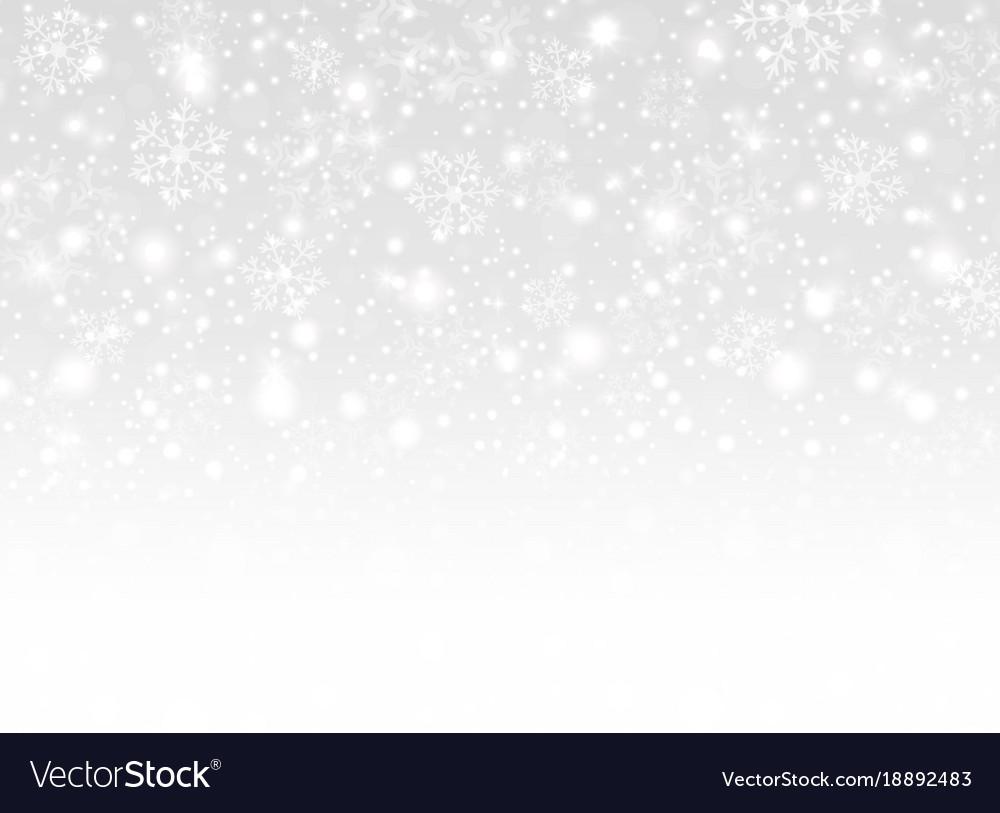 White Christmas Background.Merry Christmas Snowflakes Background White Snows