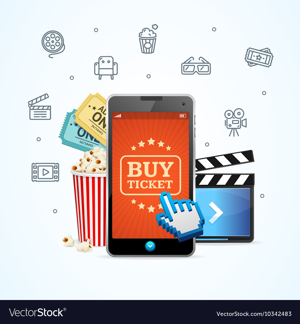 Online Ticket Cinema with Mobile App