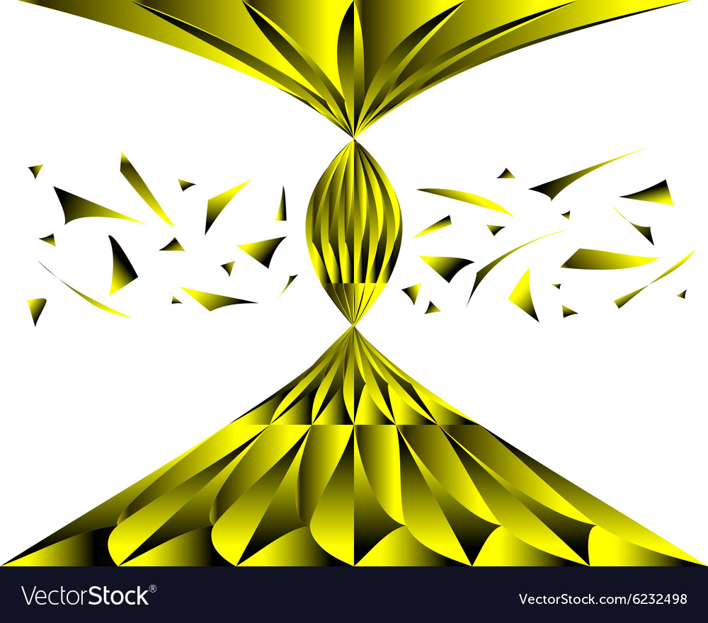 Abstract background of metal fragments