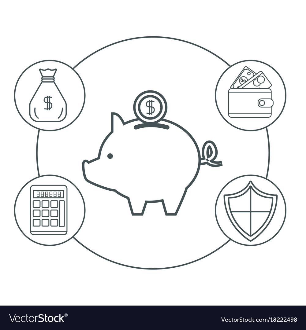 Money Certificate Of Deposit Royalty Free Vector Image