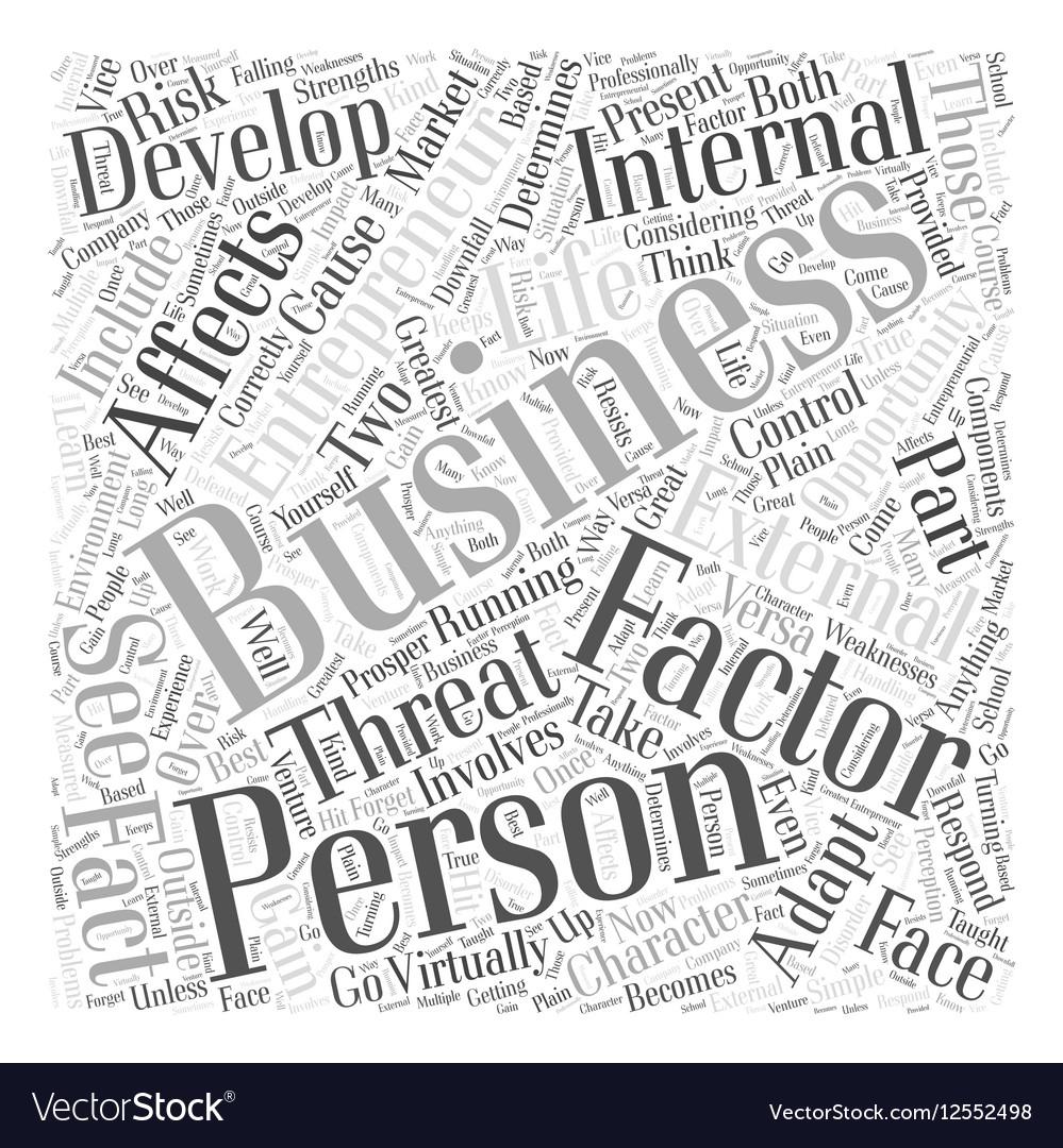 Personal development entrepreneur business Word