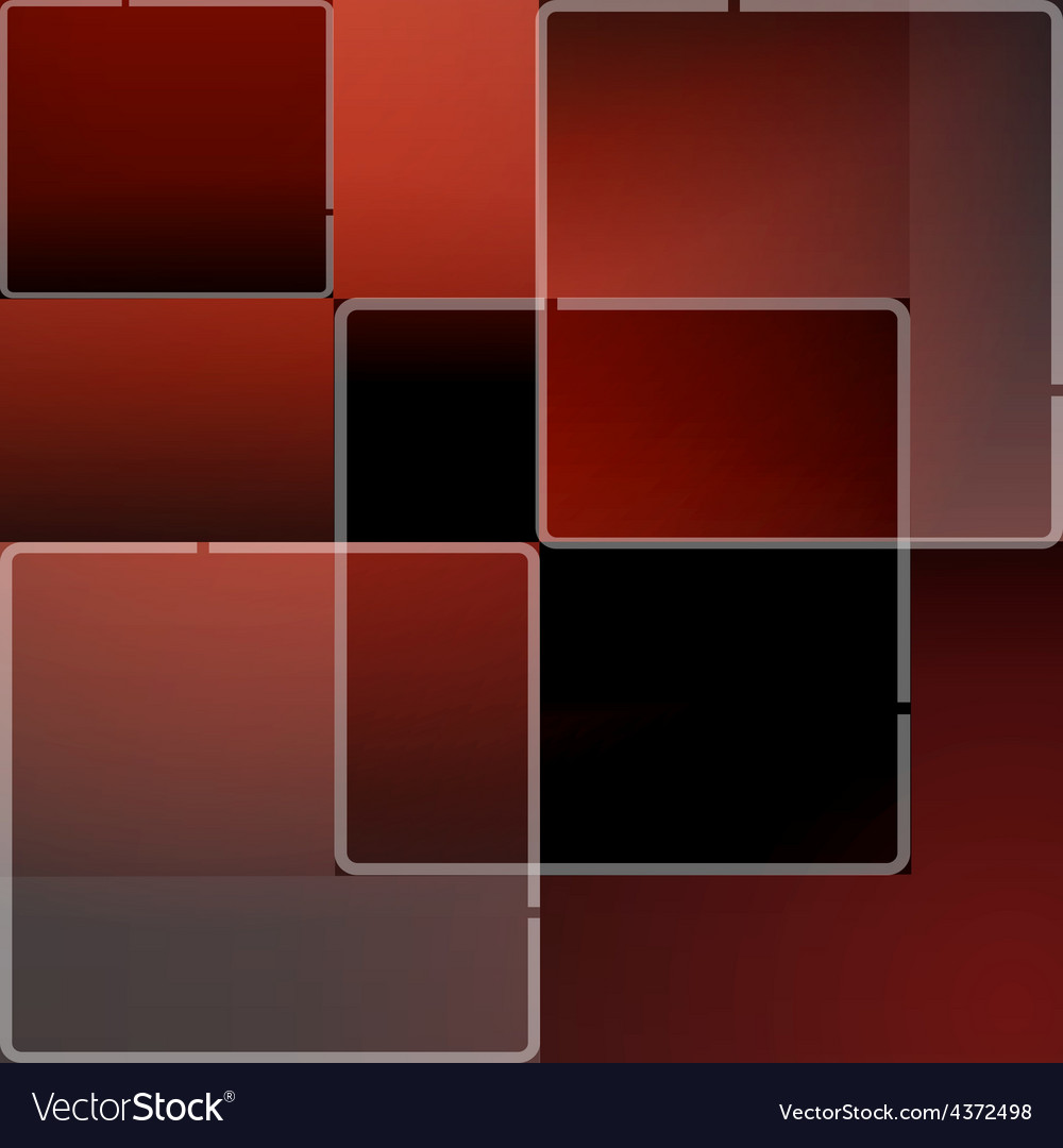 Red mosaic background in