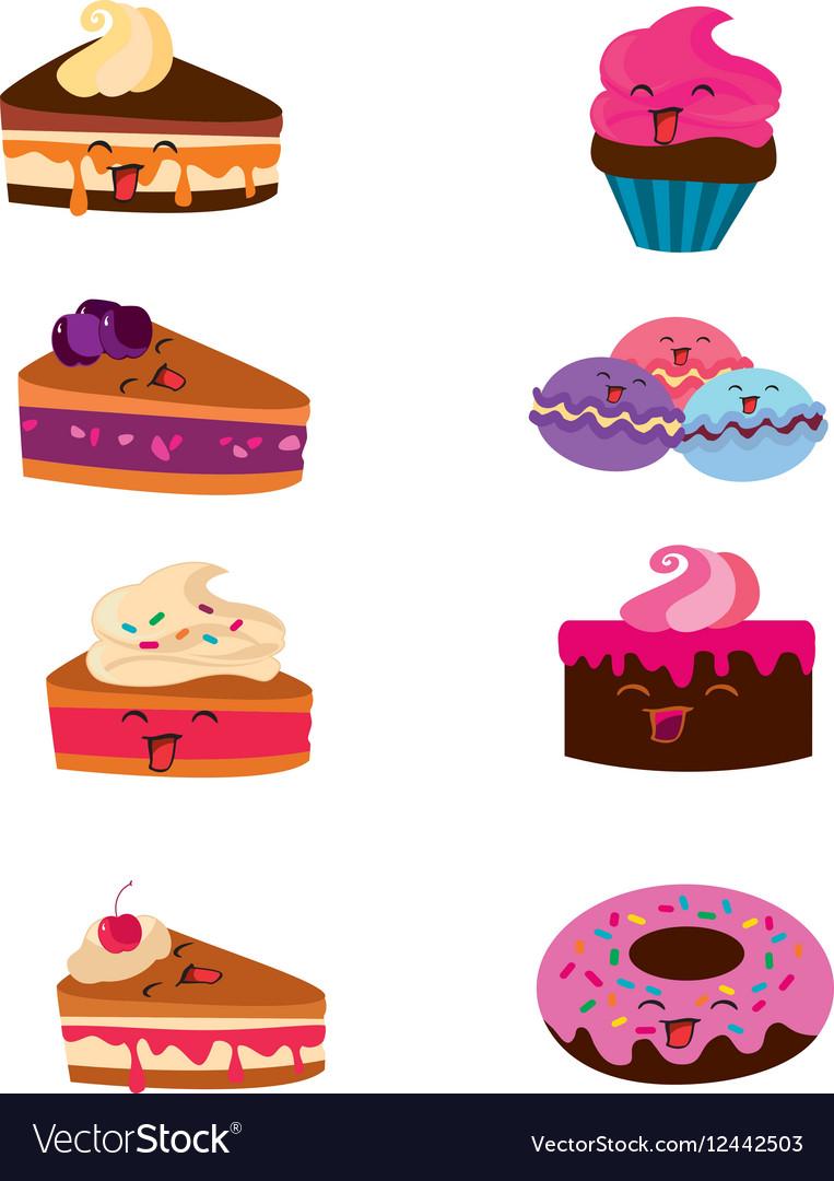 Kawaii candy and cakes