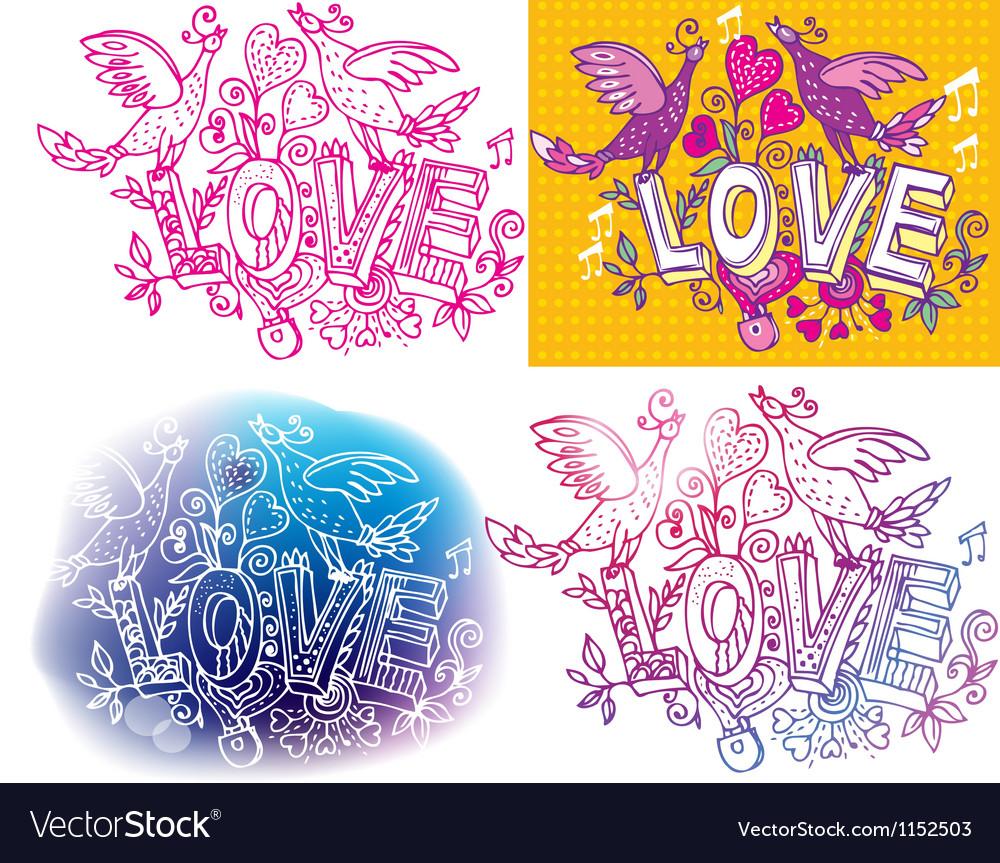 Set of Love sketchy
