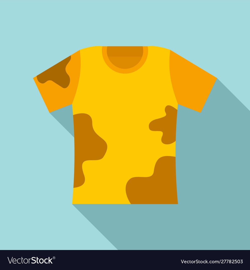 used kid tshirt icon flat style royalty free vector image vectorstock
