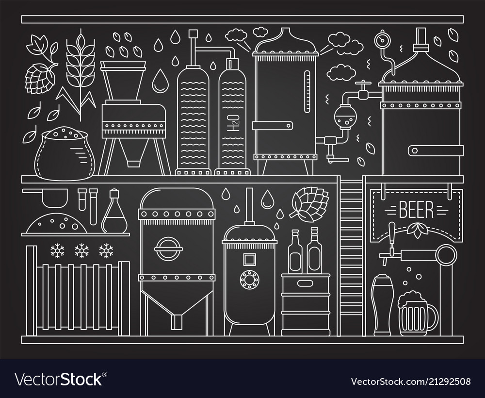 Beer production stage