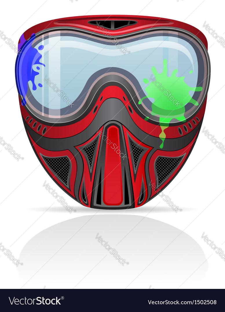 Paintball mask 02