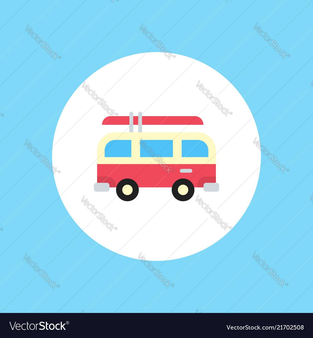 Van icon sign symbol