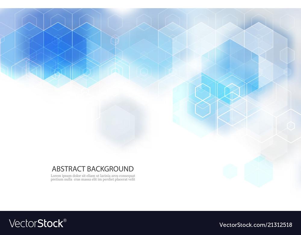 Abstract geometric shape technology digital