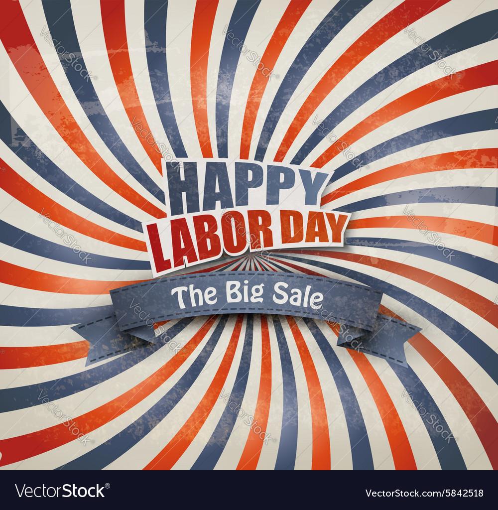 Labor day sale background