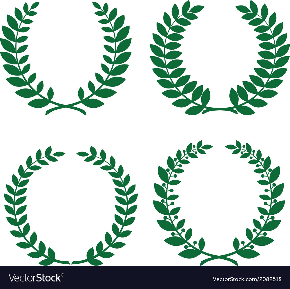 Laurel wreathes