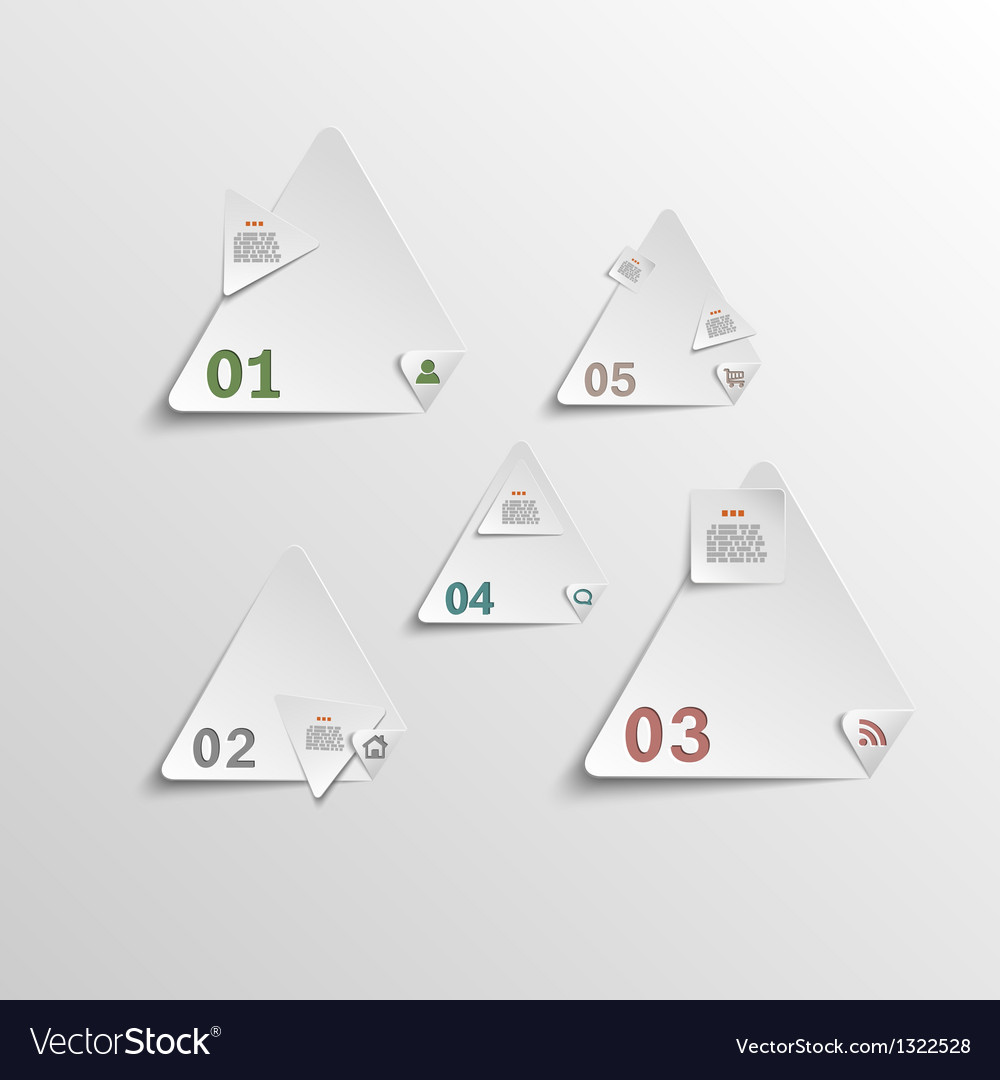 abstract template for data presentation royalty free vector, Presentation Abstract Template, Presentation templates
