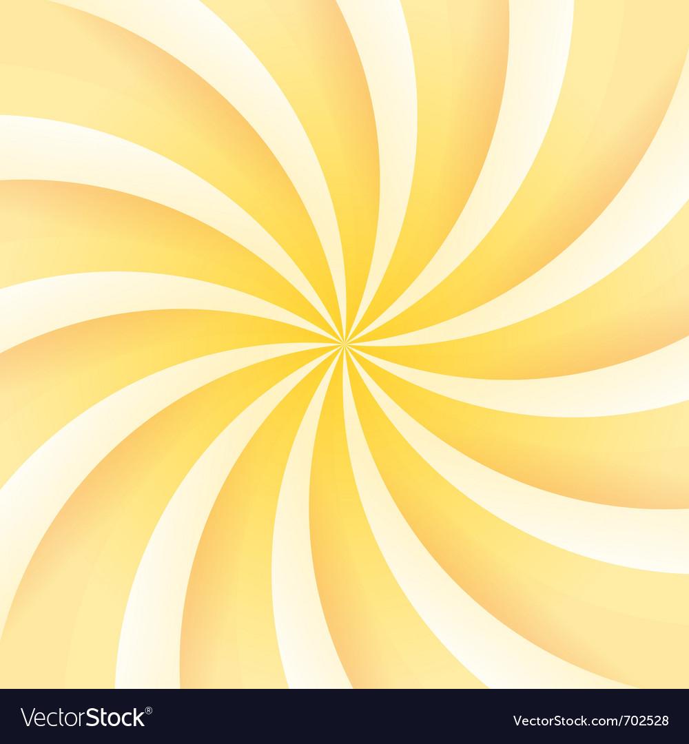 Ice cream swirl vector image