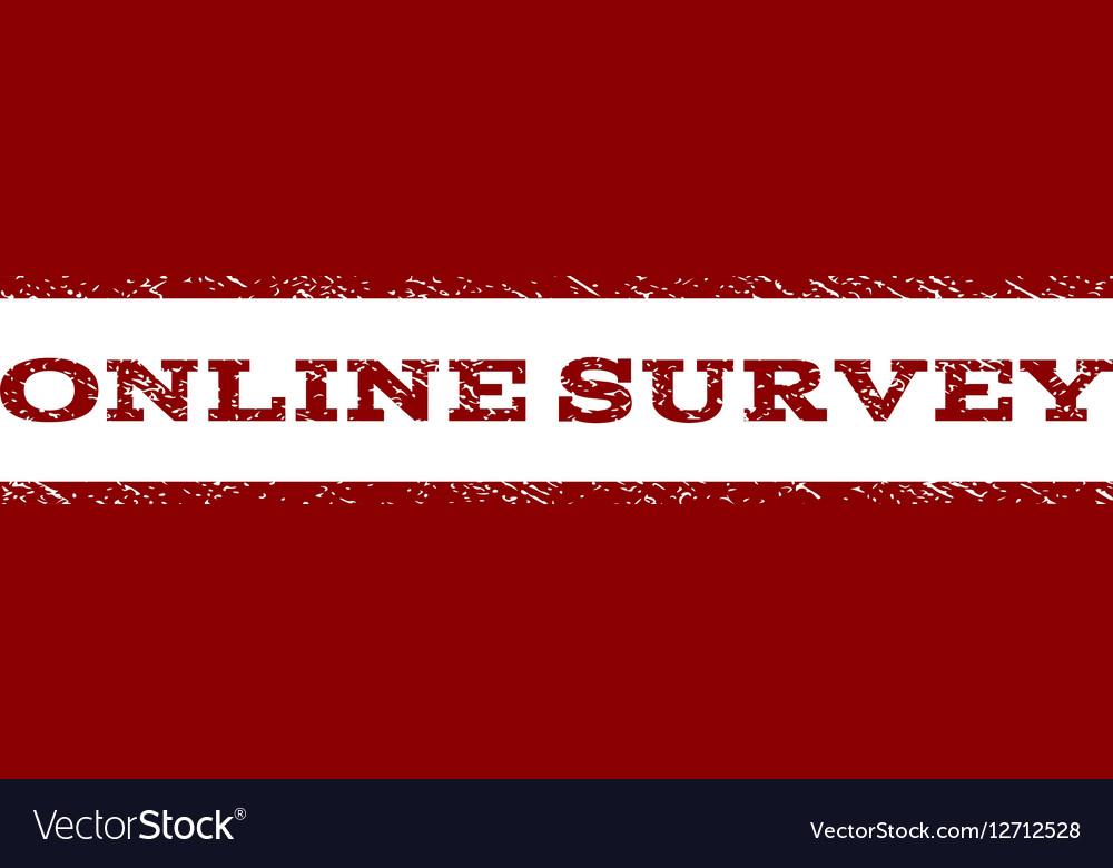 Online Survey Watermark Stamp