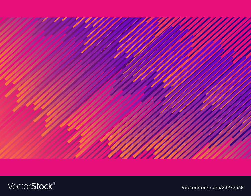 Colorful linear patterns