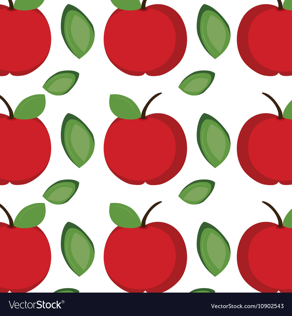 apple fruit background royalty free vector image