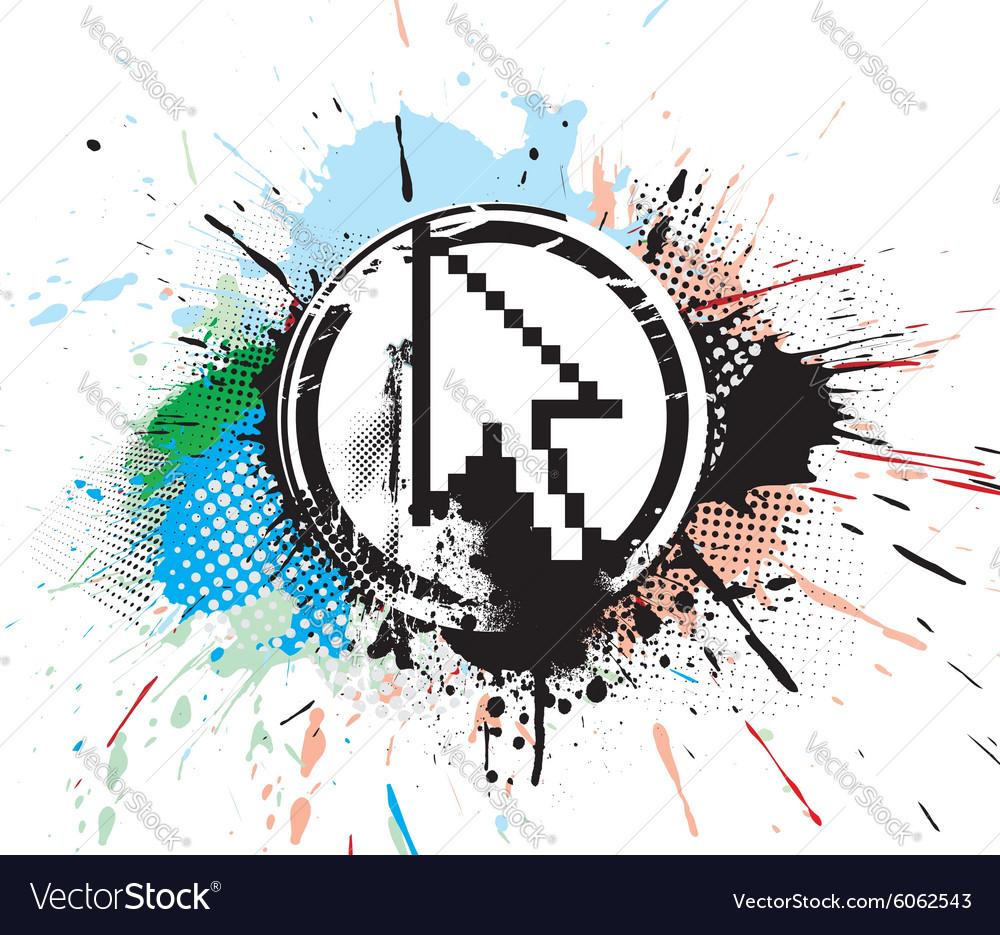 Mouse cursor vector image