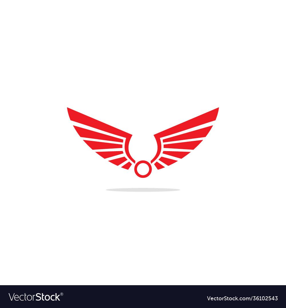 Wing emblem logo