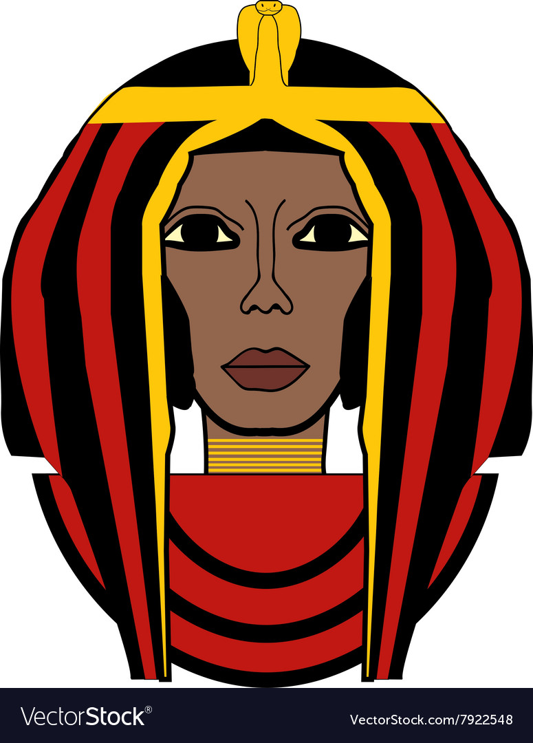Cleopatra vector image