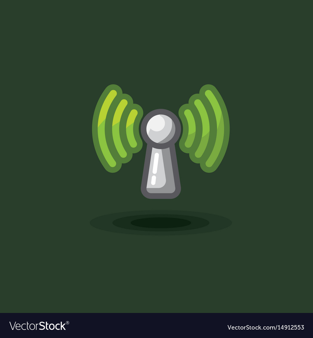 Icon sign antenna wi fi free