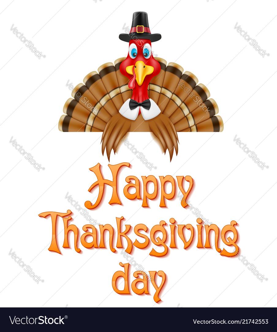 Thanksgiving turkey bird