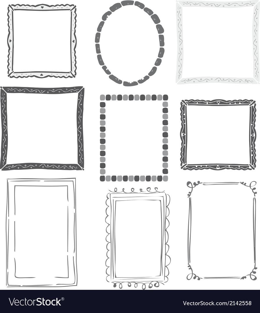 Calligraphic frames