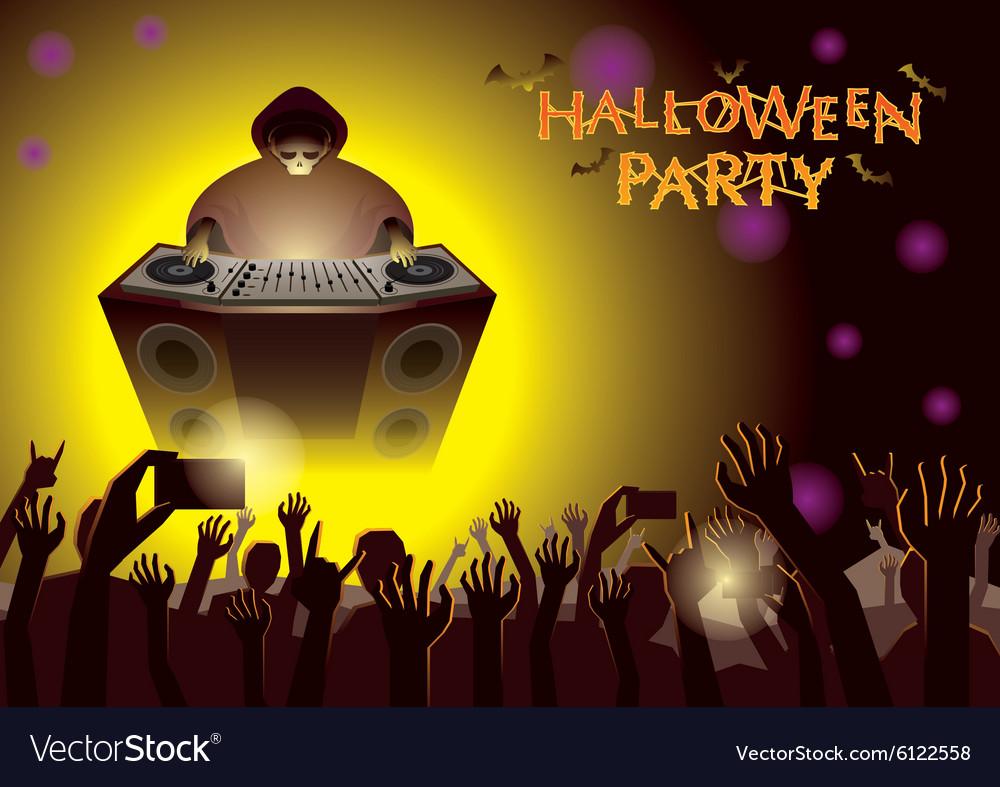 Halloween DJ Party Concert