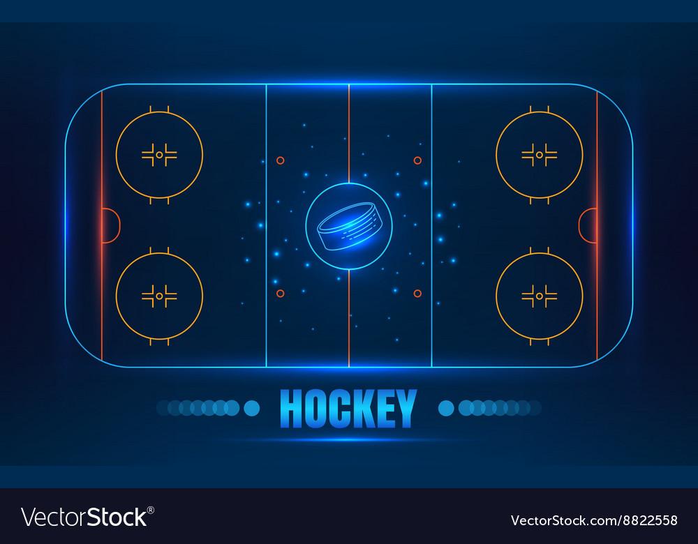 Hockey stadium on top