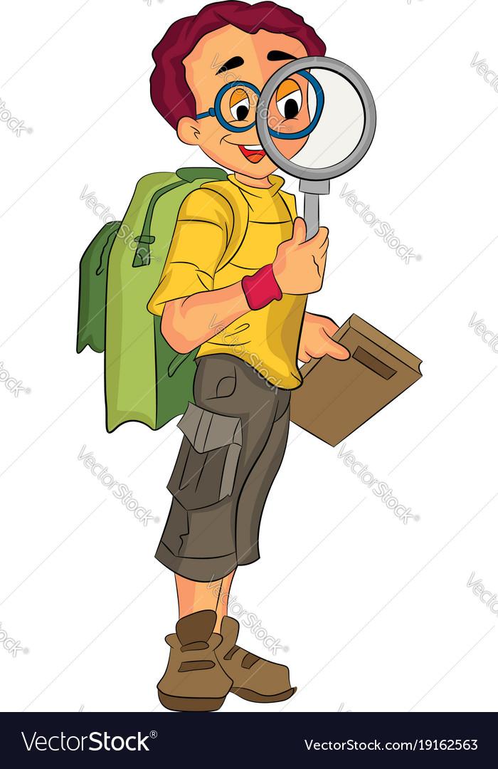 Male explorer