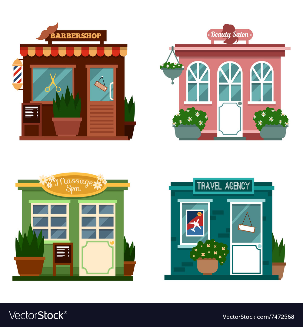Buildings that are shops