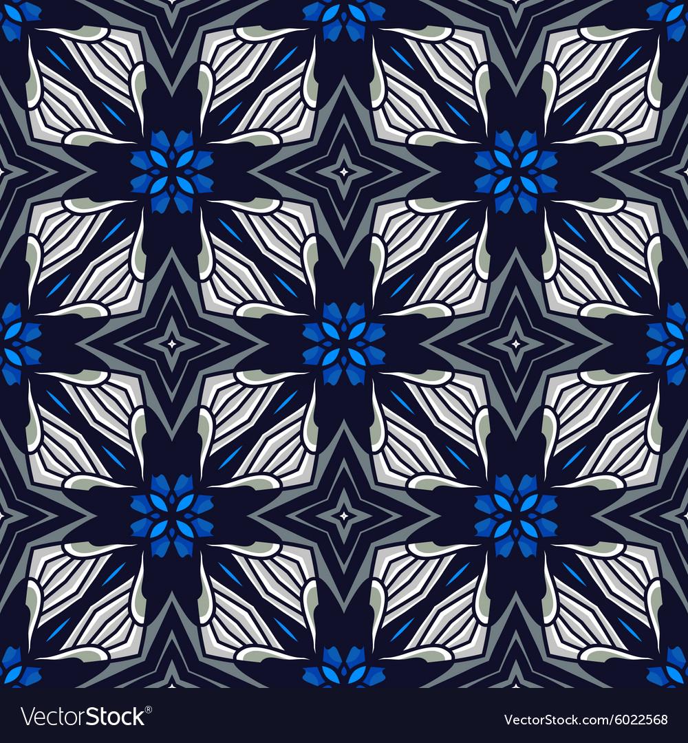 Modern geometric patterns vector image