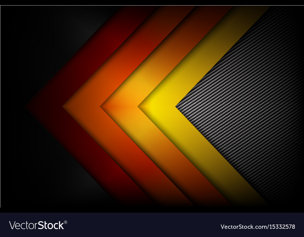 Abstract Red Orange Yellow Background Dark And