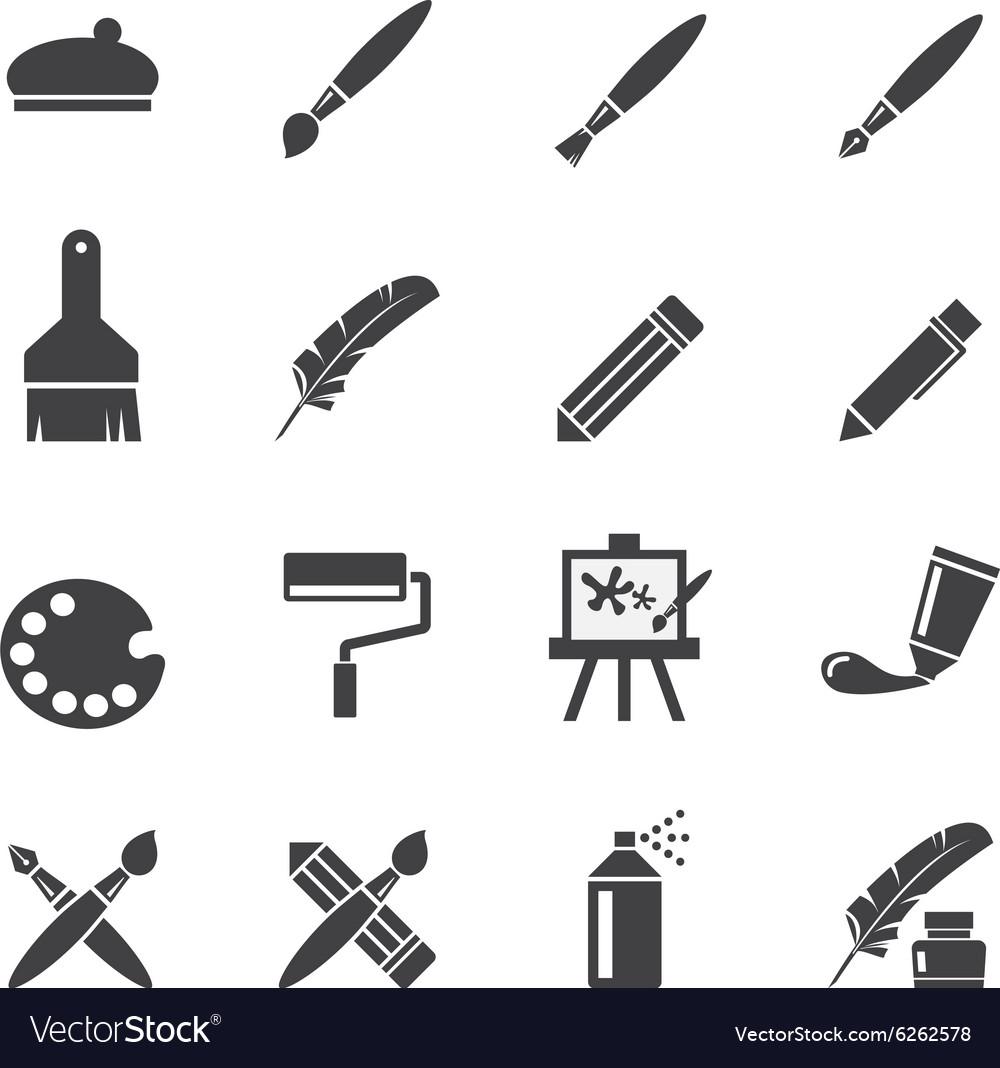 Art icon set