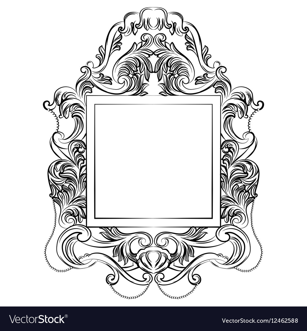 Exquisite Fabulous Imperial Baroque Mirror frame